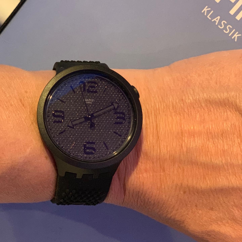 New Swatch BigBold tonight
