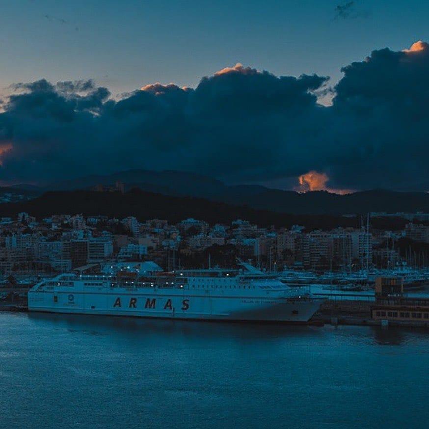 Sunset over Palma #nikond750📸