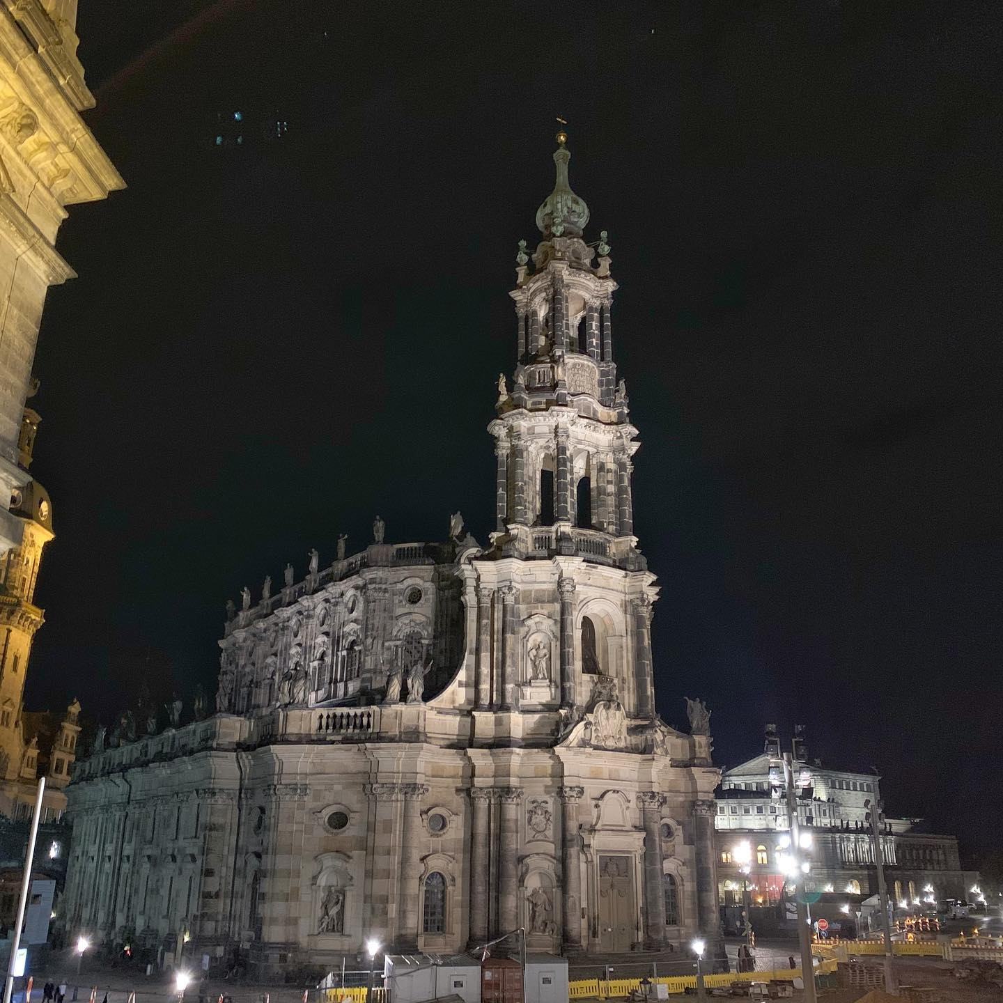 Night in Dresden