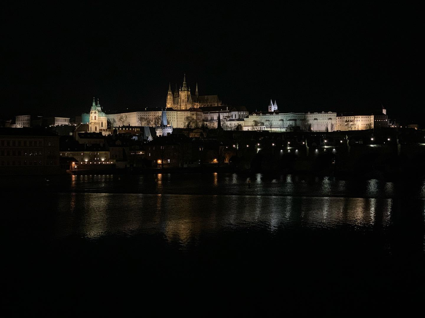 First moments in Prague