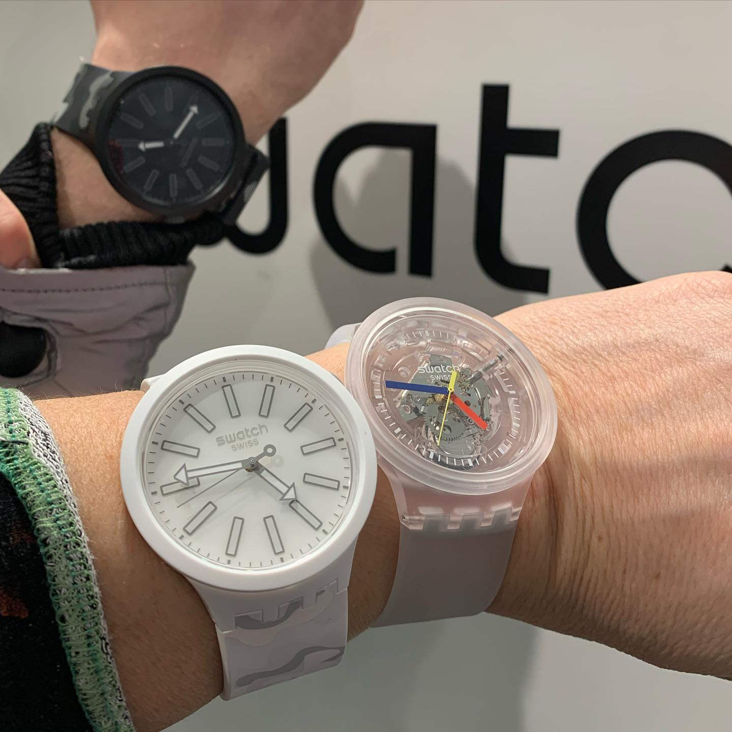 Swatch Big Bold shopping time