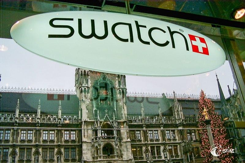 Memories swatch store opening Munich 2002