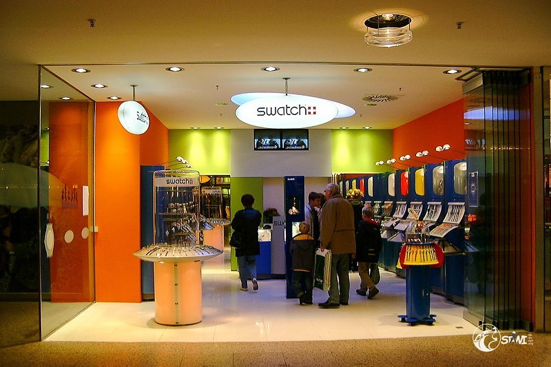 Memories swatch store opening Cologne Weiden 2002
