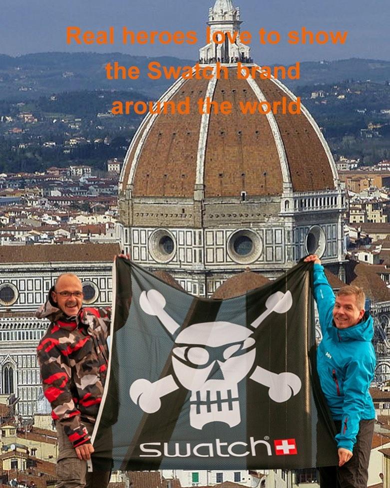 Next destination Florence? @swatchtakesmetoflorence @swatch