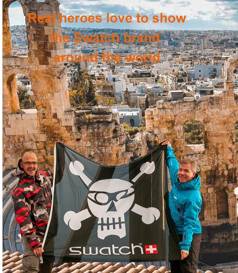 Next destination Athen? @swatch @swatchtakesmetoathens