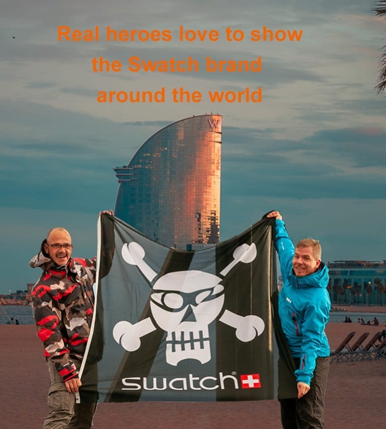 Next destination Barcelona? @swatch @swatchtakesmetobarcelona
