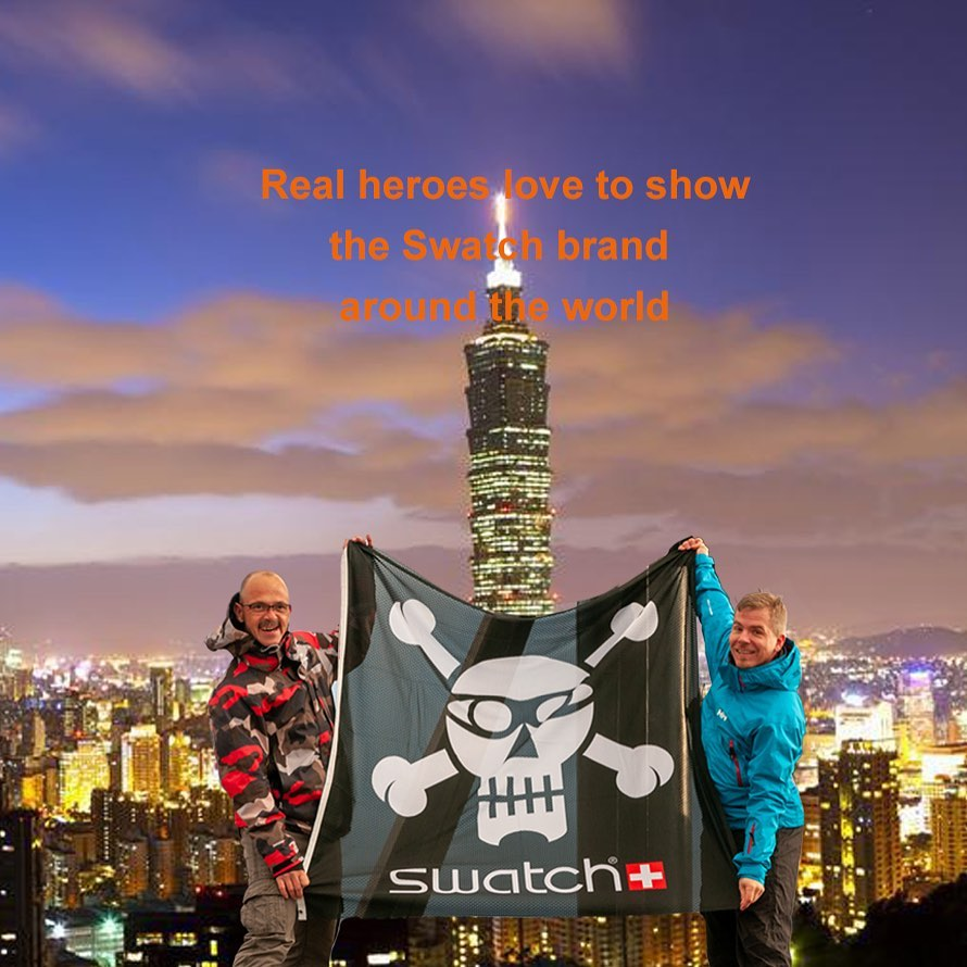 Next destination Taipei? @swatch @swatchtakesmetotaipei