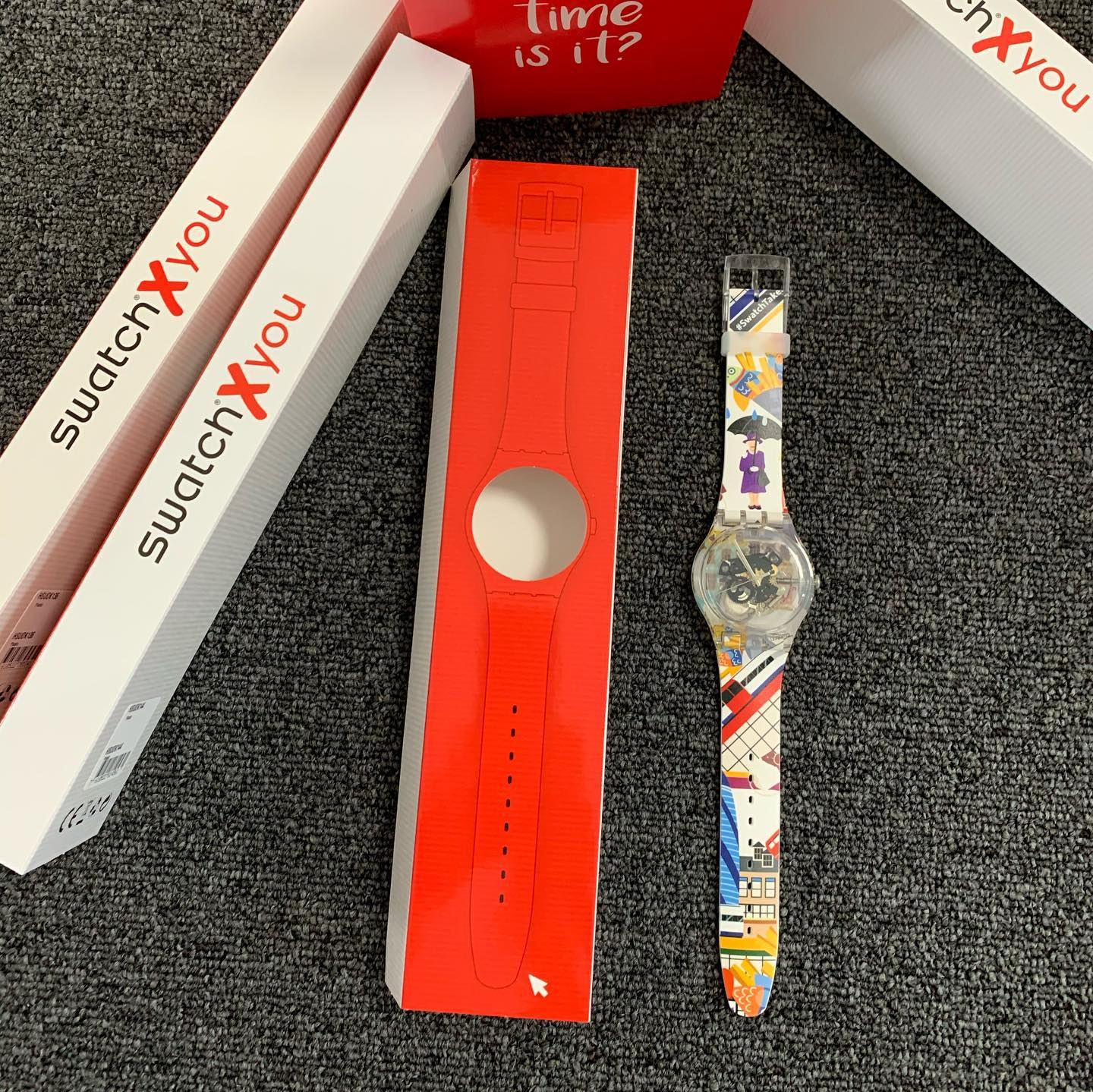 "My new SwatchXyou ""Lisbeth"" from the challenge 2020 @swatch"