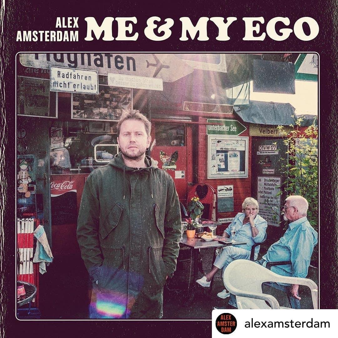 Neue Musik für die Ohren! Danke @alexamsterdam für die neue Scheibe.