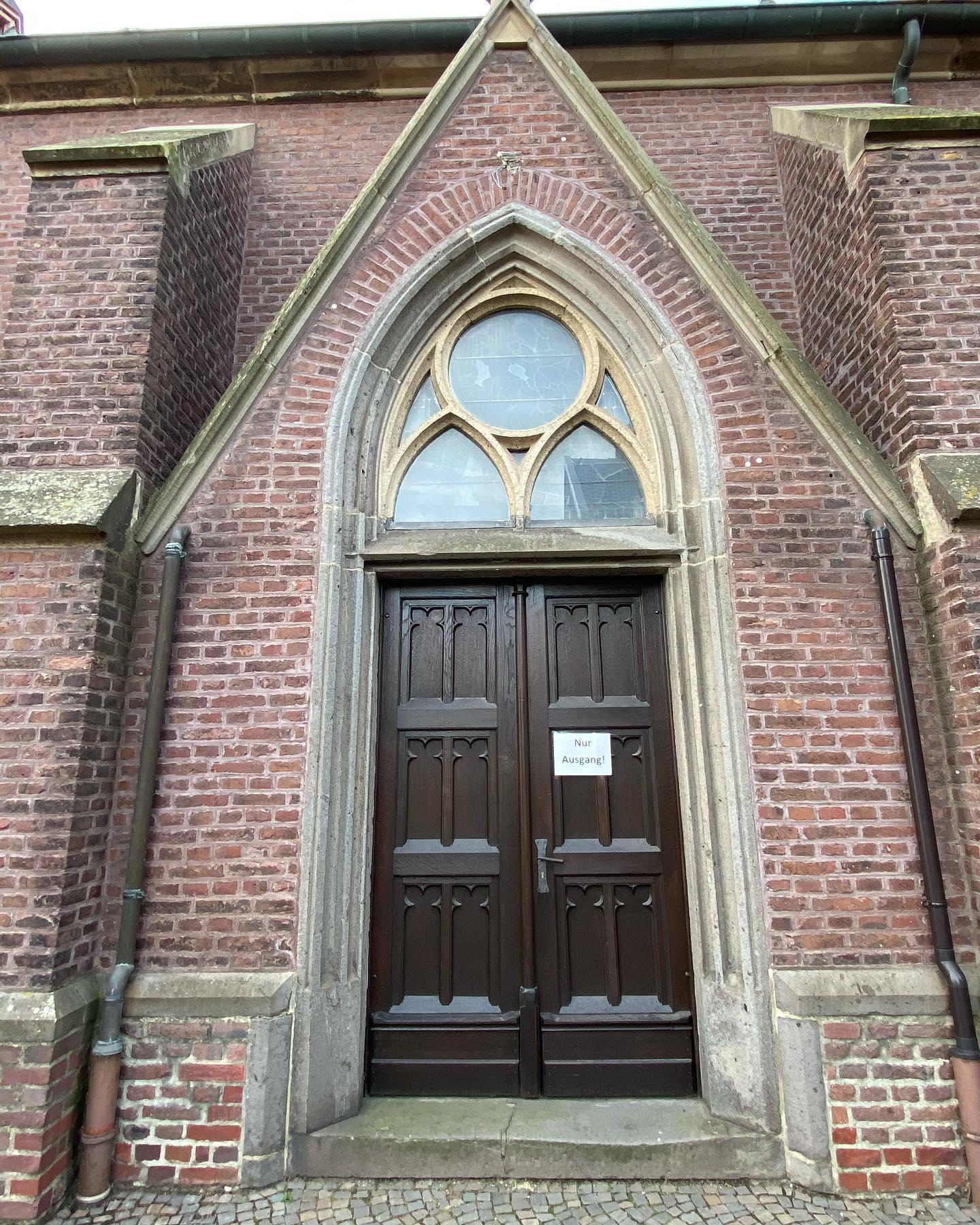 Kein Eingang -