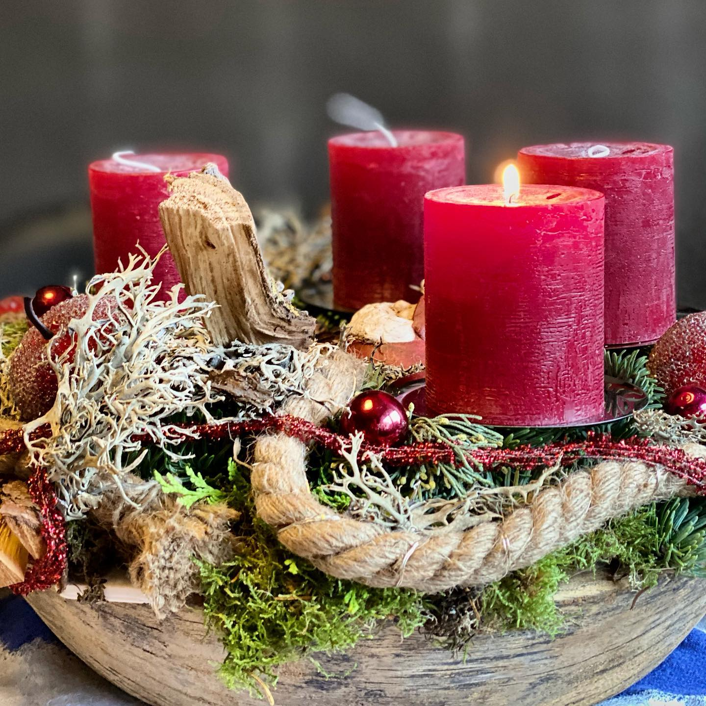 Happy First Advent to my family and friends. @bonzai74 for your love ️