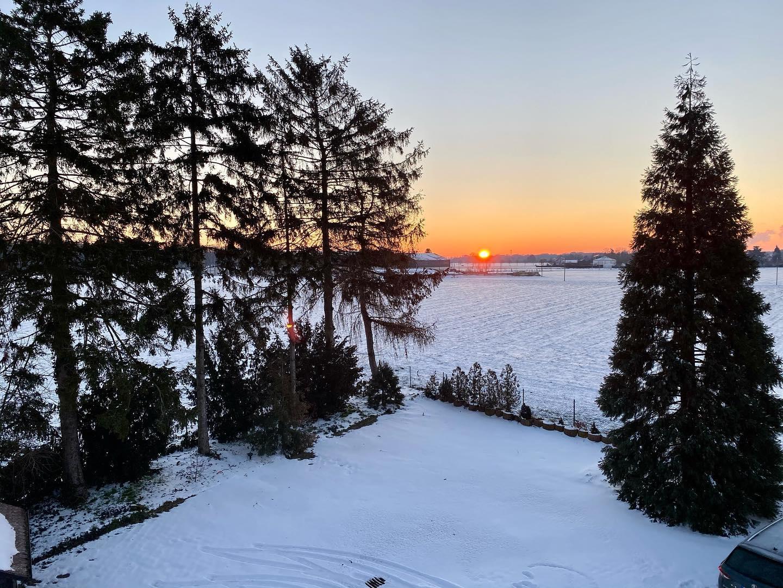 Friday Winter Morning