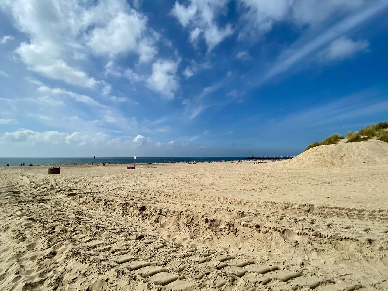 Wochenende mit Strand und Meer