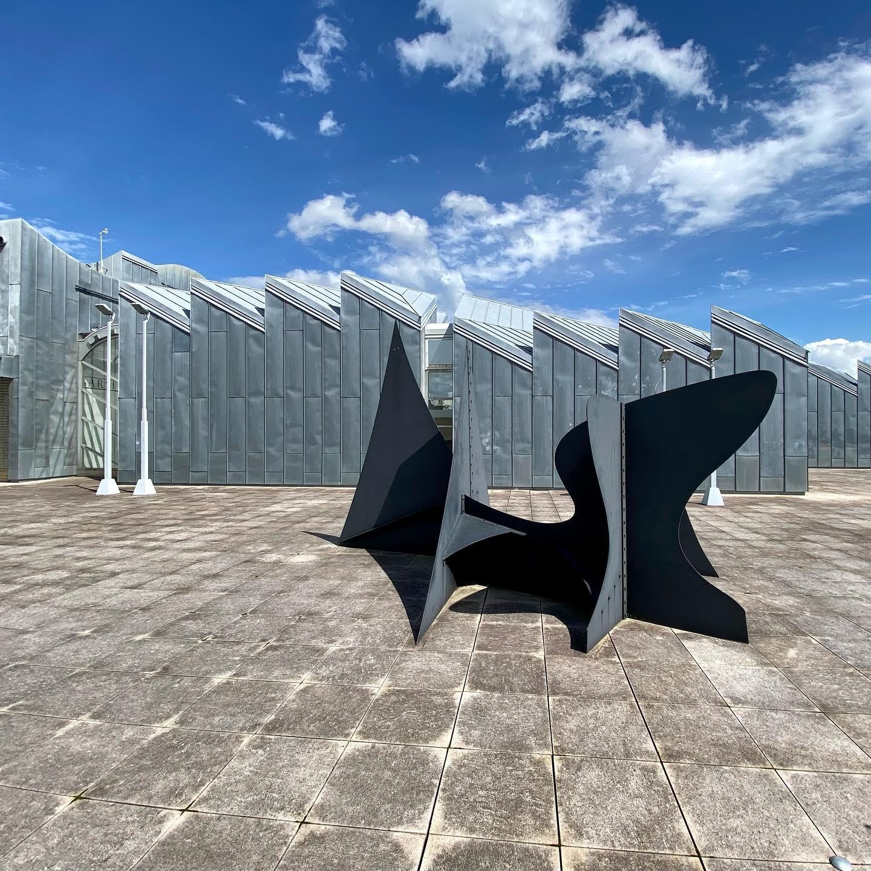Heute mal Museum und Skulpturen Garten