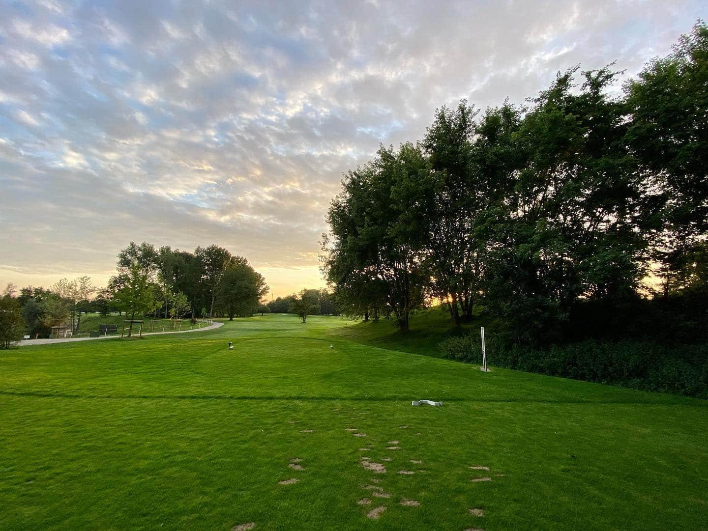 Golf Runde mit Sonnenuntergang  @golfclub_wildenrath_e.v