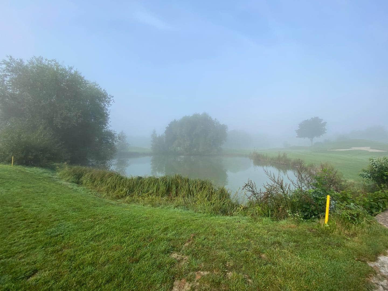 Samstag Beschäftigung - vom Nebel in die Sonne